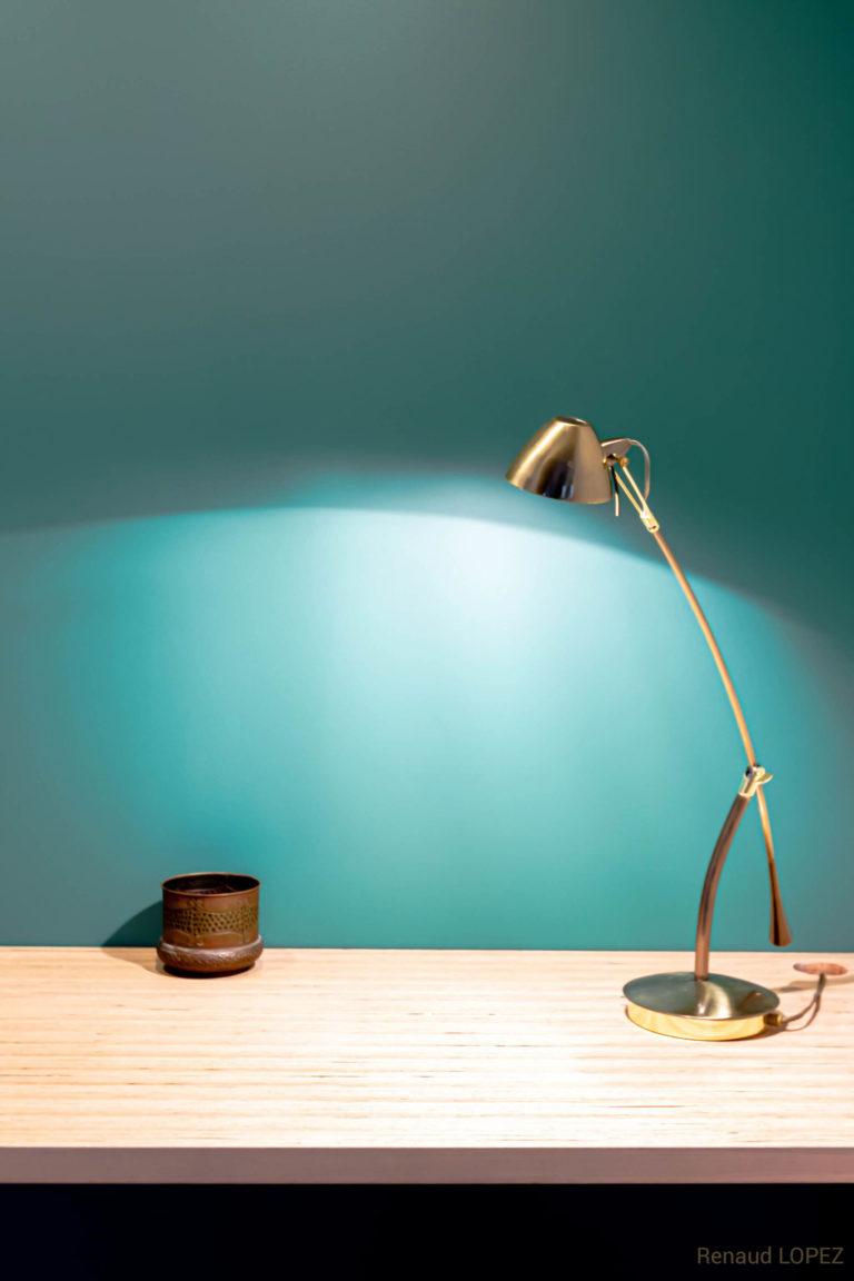 alt = Atmos Architecture - Projet A - Lampe sur Plan de travail