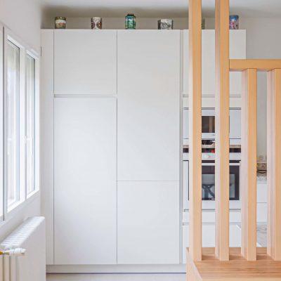 alt = Atmos Architecture - Rénovation d'une maison individuelle - Cuisine 01 - Narbonne - Portfolio