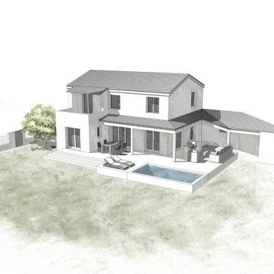alt = Atmos Architecture - Perspective extérieure - Portfolio