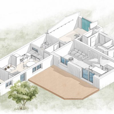 alt= Atmos Architecture_Pespective aménagement intérieur_ESQ EX05